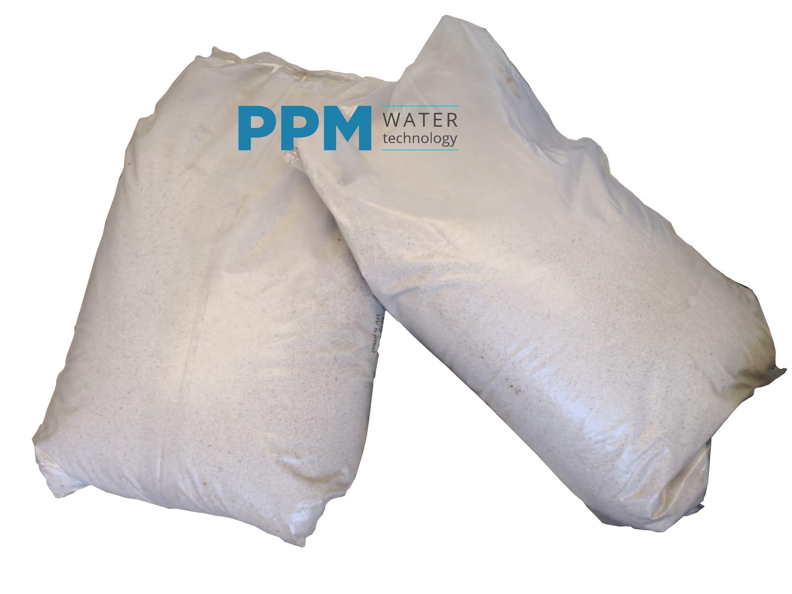 25 kg sabbia quarzifera essiccata per sabbriatrici pompe a sabbia per piscine qu